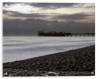 Brighton Pier Dusk, Acrylic Print