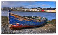 Old boat, Acrylic Print