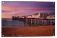Brighton Pier Sunrise, Acrylic Print