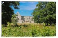 Newark Priory #2, Acrylic Print