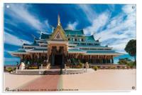 Wat Phar Pu korn, Acrylic Print