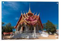 Wat Pa Tuk Suer, Acrylic Print