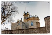 Behind Castle Walls, Acrylic Print