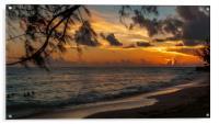 Sunset on Paradise, Acrylic Print