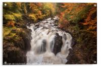 The Falls of Braan, Acrylic Print