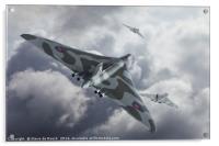 Vulcan Scramble, Acrylic Print