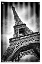 PARIS Eiffel Tower , Acrylic Print