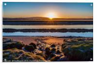 Sunrise over Lancaster, Acrylic Print
