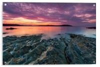 Carrick Roads Sunrise, Acrylic Print