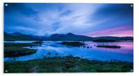 Midsummer at Lochan na h-achlaise, Acrylic Print