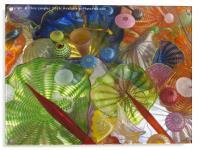 Art Glass - Underwater 1, Acrylic Print