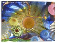 Art Glass - Underwater 2, Acrylic Print