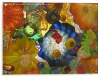 Art Glass - Underwater 6, Acrylic Print