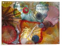 Art Glass - Underwater 7, Acrylic Print