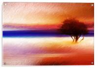 Summer wind , Acrylic Print