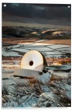 Stanage Millstones #2, Acrylic Print