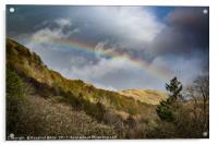 Highlands Rainbow, Acrylic Print