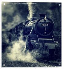 The Mail Train, Acrylic Print
