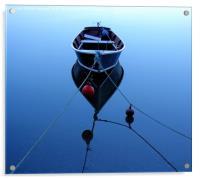 Blue Reflection, Acrylic Print