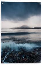 Inverscaddle Storm, Acrylic Print