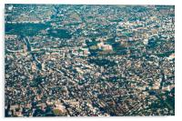Aerial View Of Bucharest City In Romania, Acrylic Print