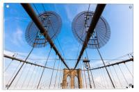 The Brooklyn Bridge, Acrylic Print