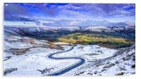Edale Valley in Derbyshire, Acrylic Print