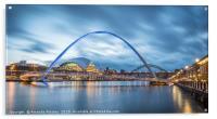 Gateshead Millennium Bridge, Acrylic Print