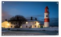 Souter Lighthouse, Acrylic Print