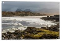Achnahaird Bay on the Coigach Peninsula, Scotland, Acrylic Print