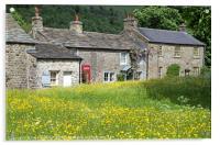 Arncliffe Village Littondale Yorkshire Dales, Acrylic Print