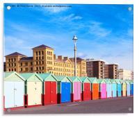 Hove seafront - Brighton & Hove, Acrylic Print