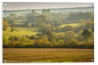Autumn Landscape, Acrylic Print
