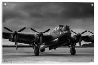 Avro Lancaster NX611 Just Jane , Acrylic Print