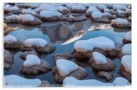 Half Dome Reflection, Acrylic Print