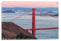 San Francisco Bay, Acrylic Print