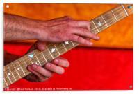 Guitar Solo, Acrylic Print