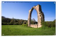 Dale Abbey Arch, Acrylic Print