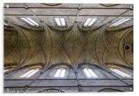 Church Ceiling, Acrylic Print