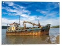 The Vicky Leigh Fishing Boat., Acrylic Print