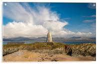 The Old  Beacon on Llanddwyn Island, Anglesey, Acrylic Print