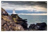 The Tower at Llanddwyn Island, Anglesey., Acrylic Print