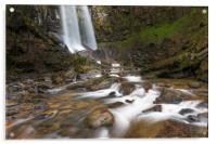 Melincourt waterfall., Acrylic Print