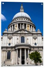 St. Pauls Cathedral in London, Acrylic Print