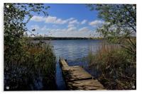 Wintersett Reservoir, Acrylic Print