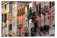 The elegant and refined architecture of Venice, Acrylic Print