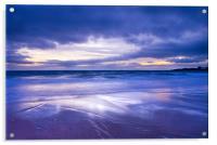 Sunset over Eile Beach, Acrylic Print