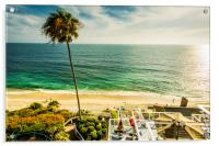 Sun Emerald Laguna Beach, Acrylic Print