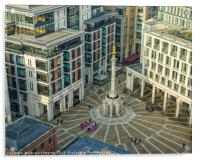 Paternoster Square, Acrylic Print