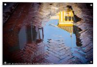 Reflection of Rosina's balcony in Seville, Acrylic Print